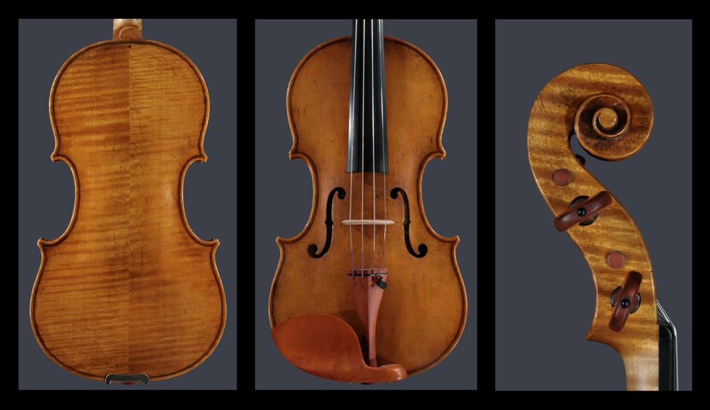 7-8th violin Ch. Dequincey made for Guy Harrison 2010, A. Amati model